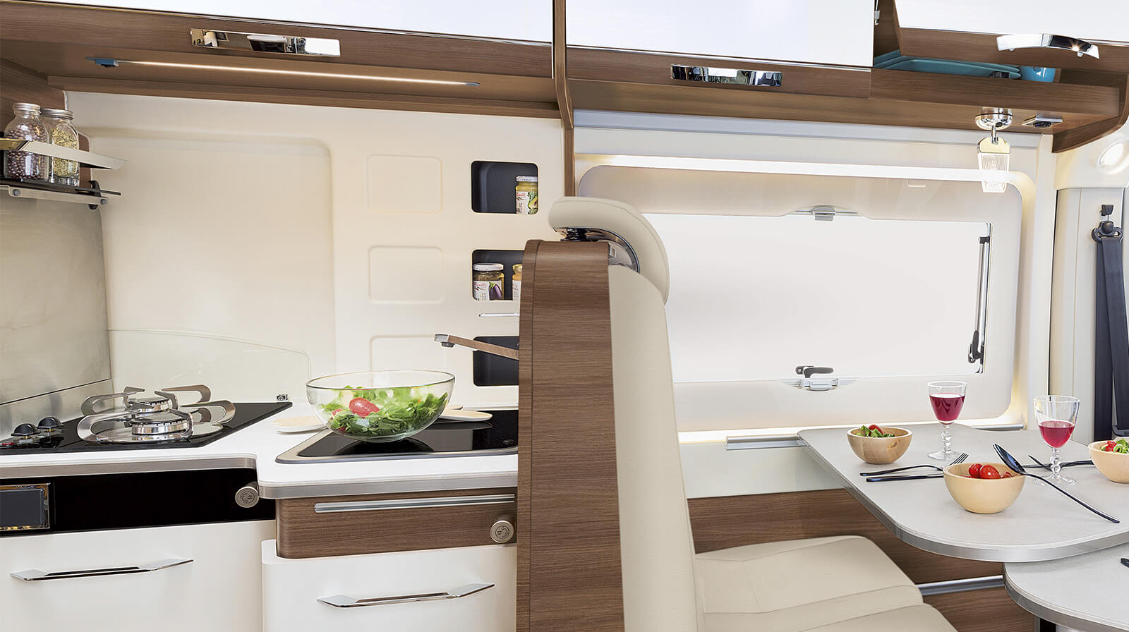 Interior photos RAPIDO Motorhome V62
